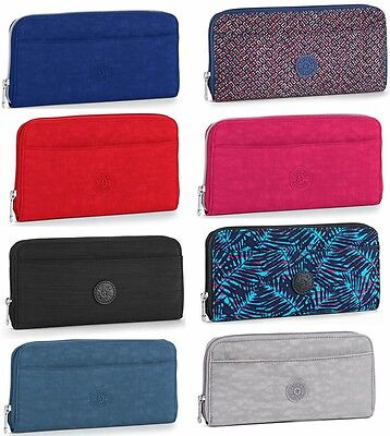 Kipling  Travel Document Holder Zip Around Wallet Various Colours BNWT