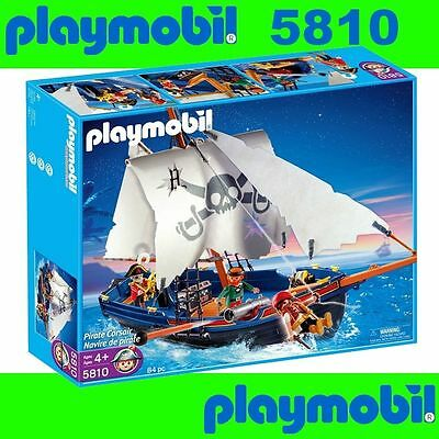 PLAYMOBIL 5810 Piratenschiff Korsarensegler Pirate BINSB RARE