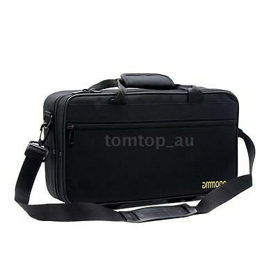 ammoon Water-resistant Gig Bag Box for Clarinet with Single Shoulder Strap S6U5