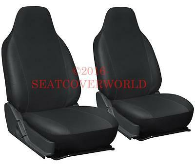 AUDI Pair of LEATHERETTE FRONT SEAT COVERS A1 A2 A3 A4 A5 A6 Q3 Q5 Q7 TT