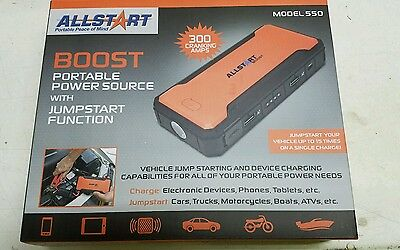 NEW  Boost Max 12000 MAH JS Portable Charger CAL 550 CAL-VAN