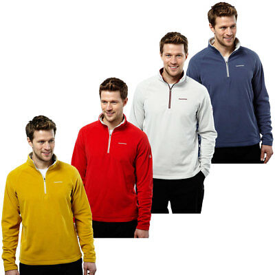 Craghoppers Mens Selby Half Zip Fleece CMA1183 Lightweight Pullover 50% OFF RRP