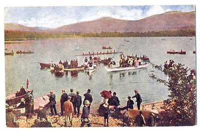 UK Town View Killarney Ireland Lower Lake PC 1906