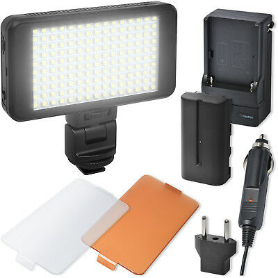 Precision Design 150 LED Ultra-Slim Video Light w/ 2 Diffusers, Battery/Charger