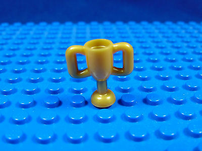 Lego-Minifigures Series [8] X 1 Gold Cup For The Football Player Series 8 Parts