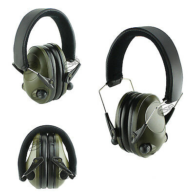 Electronic Earmuffs Smart Noise Canceling Safety Hearing Ear Protection Shooting