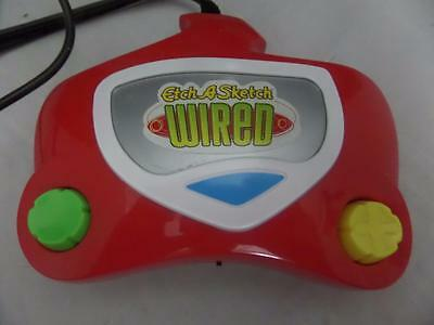 ETCH A SKETCH WIRED ~ Plug and Play TV Game  F3