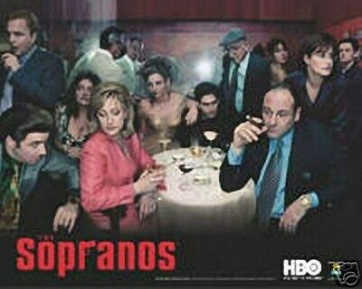 New 24X36 Poster The Sopranos 2 Rare Collector Print