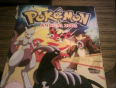 Pokemon Annual 2003 (Annuals) by Anon` Hardback Book The Cheap Fast Free Post