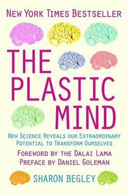 The Plastic Mind by Sharon Begley Paperback Book The Cheap Fast Free Post