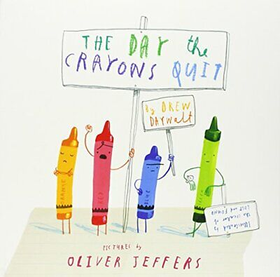 The Day The Crayons Quit by Daywalt, Drew Book The Cheap Fast Free Post