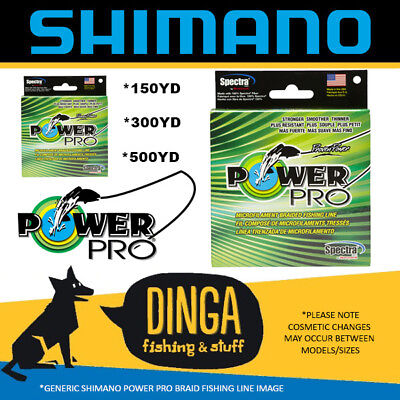 Shimano Power Pro Braid Yellow Microfilament Fishing Line
