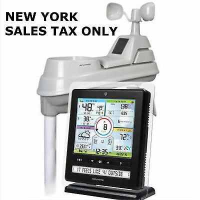 AcuRite 5-in-1 Color Weather Station with PC Connect NEW ! Ship In Original Box