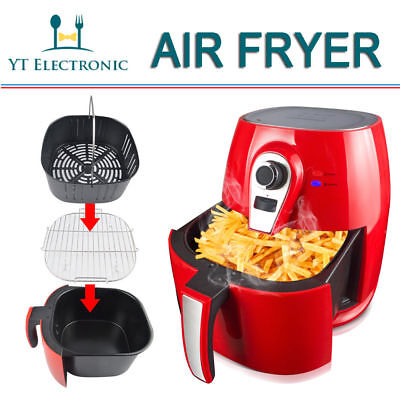 1400W 4.2L Non-Stick Low Fat Cook Deep Fryer Hot Skinny Health Food Air Fryer