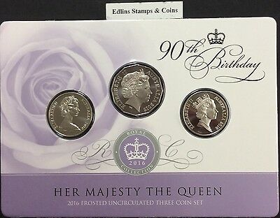 2016 Queen Elizabeth 90th Birthday Limited Proof 999.9 Solid Silver Coin COA