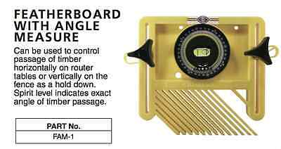 Carb-I-Tool FAM-1 - Featherboard with angle measure for panel saw etc CARBITOOL