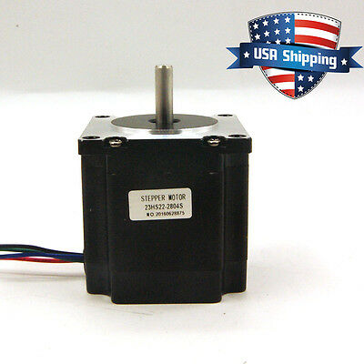 Nema 23 CNC Stepper Motor 1.26Nm(179oz.in) Bipolar DIY CNC Router Mill