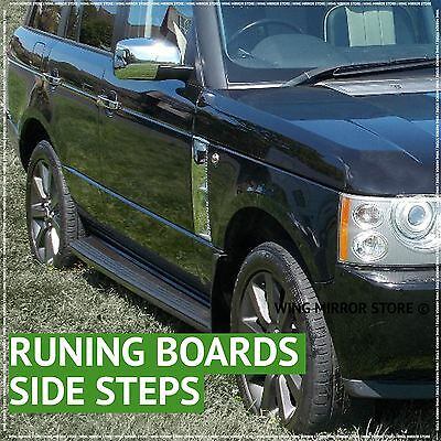 Running Boards, Side Steps for Land Rover Range Rover L322 02-12