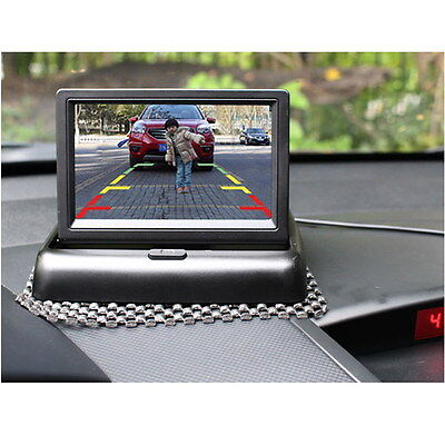 "Car 4.3""Rear View Camera Backup + Foldable Color TFT Monitor System Reverse Kit"