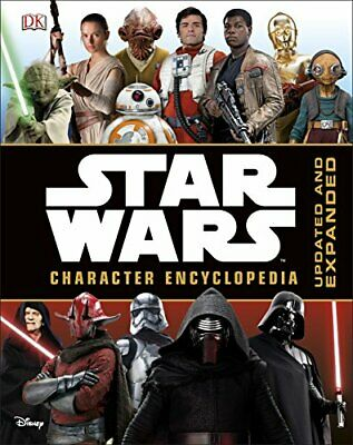 Star Wars Character Encyclopedia Updated and Expanded by DK Book The Cheap Fast