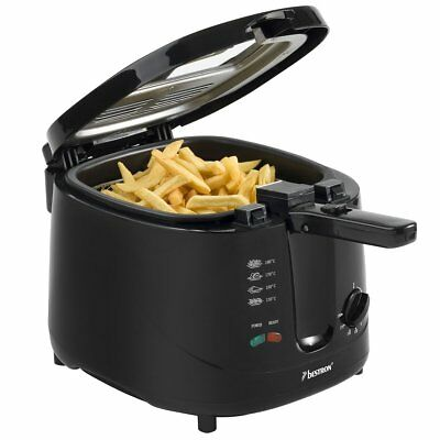 Bestron ADF2000 1800W Fritteuse Fritöse Friteuse mit Geruchsfilter 2,5 Liter
