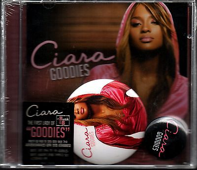 Ciara - Goodies with two kind of badge First Edition Korea Audio CD Sealed