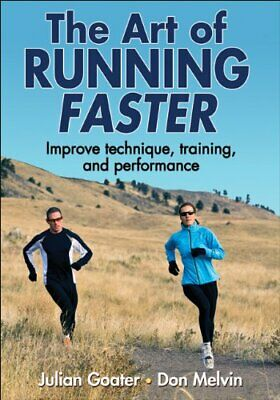 The Art of Running Faster, Don Melvin Book The Cheap Fast Free Post