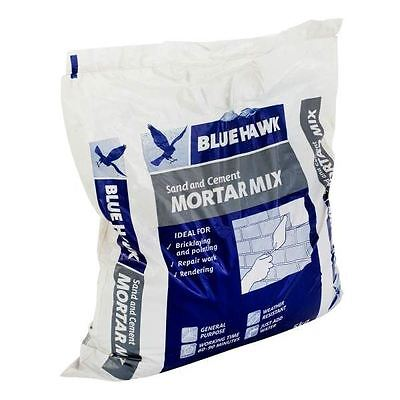 Blue Hawk Sand & Cement Mortar Mix Ideal For Bricklaying Pointing Repairs 5Kg