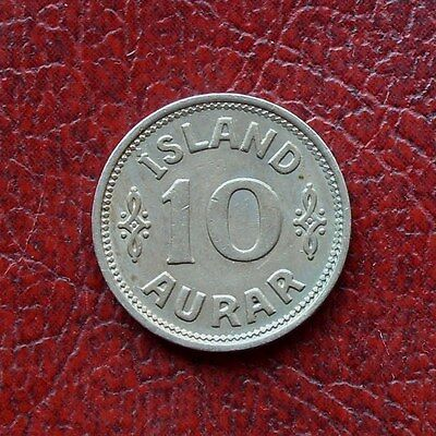 Iceland 1939/6 copper-nickel 10 aurar