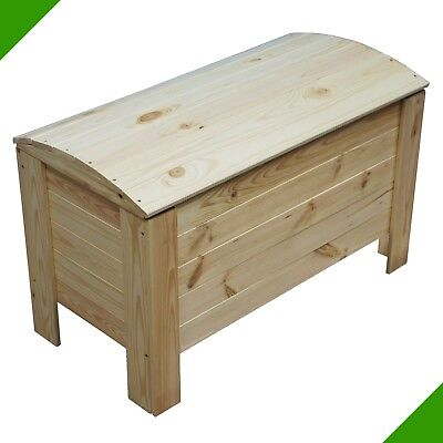 new children wooden toy storage unit laundry box made of wood linen chest large