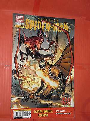 UOMO RAGNO- N° 607- superior spider-man- N°7- MARVEL PANINI COMICS - spiderman