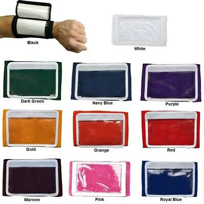 New Martin Dozen (12) Adult 3 Pocket Football Baseball Wrist Coach Many Colors