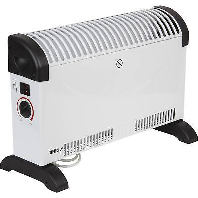 Igenix IG5200 2kW 2000W 3 Settings Convector Heater with Thermostat in White
