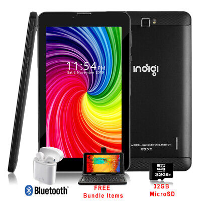 Unlocked 7in Android 3G Smart Phone+TabletPC WiFi + SmartCover & Bundle Included