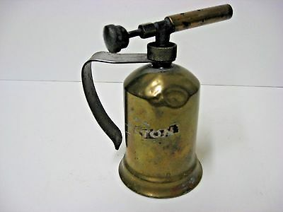 antique soldering gasoline torch