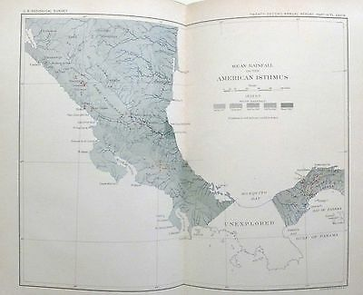 1901 USGS GEOLOGICAL SURVEY 22nd Annual Report Part 4 CHARLES WALCOTT