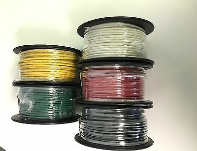 14 AWG Gauge Wire 100ft Marine Grade Tinned Copper Auto, Boat, Solar, Motorcycle