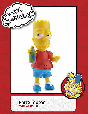 The Simpsons Talking Figure -  Bart Simpson with Sound - 74332 - New