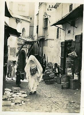 Real Photo  algiers   1 3 6x4 inch 1920s-30s3
