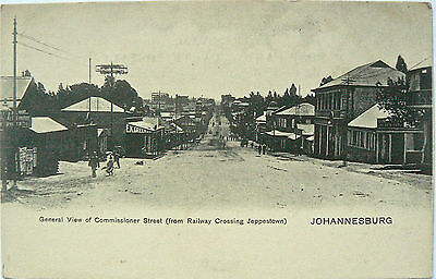 POSTCARDS.SOUTH AFRICA.COMMISSIONER ST. JOHANNESBURG.UNDIVIDED BACK.EARLY 1900's