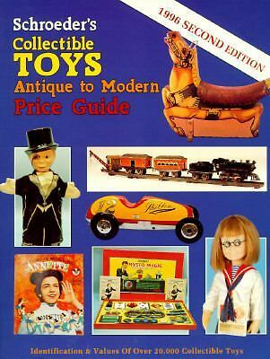 Schroeder's Collectible Toys Antique to Modern Price Guide/1996
