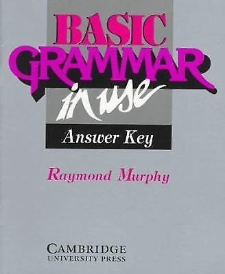 Basic Grammar in Use : Reference and Practice for Students of English