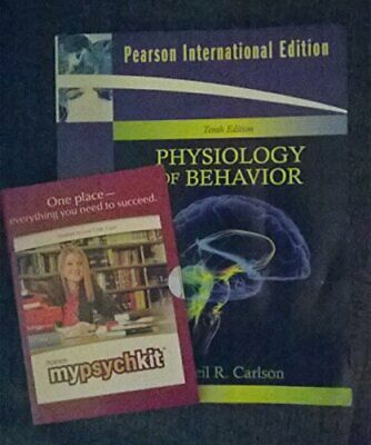 Physiology of Behavior: International Edition by Carlson, Neil R. Paperback The