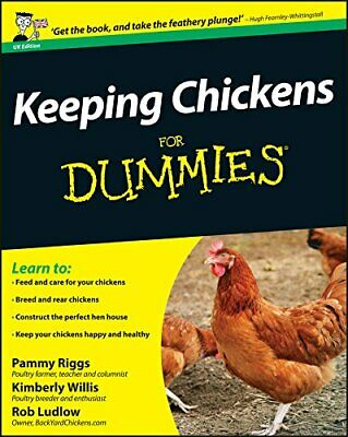 Keeping Chickens For Dummies (UK Edition) by Ludlow, Rob Book The Cheap Fast