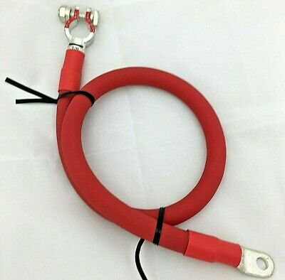 Positive Battery Cable 1/0 AWG 0 Gauge Ga Copper Custom Made Auto-Truck-Marine