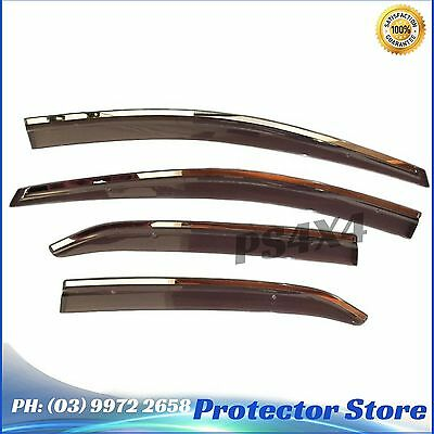 Superior INJECTION WEATHER SHIELDS Toyota Corolla Sedan 2014+ Window Visors
