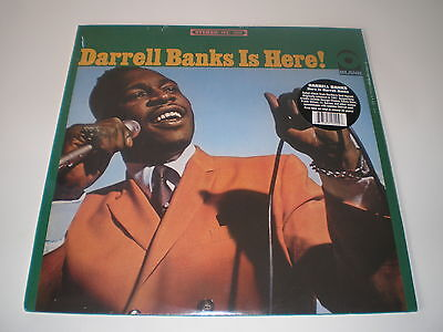 Northern Soul Lp Darrell Banks Is Here! - New - Sealed