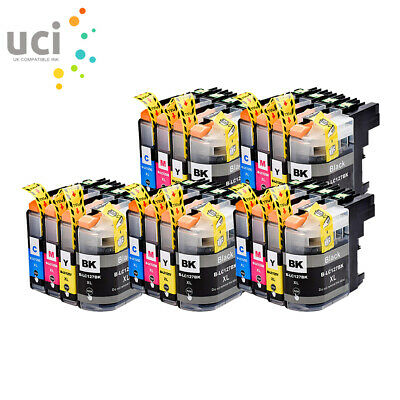 20 Ink Cartridge For Brother LC-125 LC-127 XL DCP-J4110DW MFC-J4410DW J4510DW