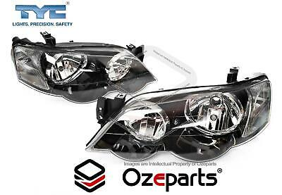 TYC Set Pair LH+RH Head Light Lamp For Ford BA BF Falcon XR6 XR8 FPV GT Typhoon