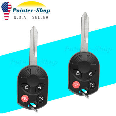2 For 2005 2006 2007 2008 2009 2010 2011 Ford Escape keyless entry key Remote